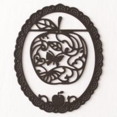 プチクリ りんご《恋が実を結ぶ》 黒(PC052) ラッキーモチーフシリーズ 10個入り