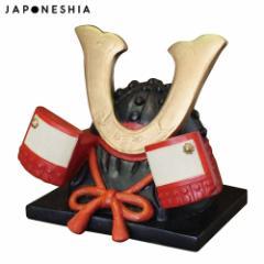 DECOLE JAPONESHIA 兜スマホスタンド (JN-48392) Kabuto smartphone stand