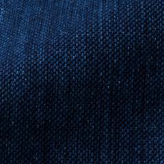 小島屋 藍染め織物 刺子織生地素材 ディープインディゴ 1mカット 綿100% 武州正藍染 埼玉県の工芸品 Indigo dye fabric, Saitama