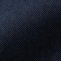 小島屋 藍染め織物 刺子織生地素材 ホワイトミックス ダークインディゴ 1mカット 綿100% 武州正藍染 埼玉県の工芸品 Indigo dye