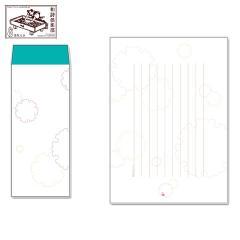 レターセット 徒然箋 雪輪(便箋20枚+封筒5枚セット) (TS-003) 和詩倶楽部
