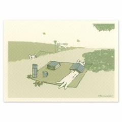 ポタリングキャット ポストカード 季節のカード こいのぼりのカード(KC-06)