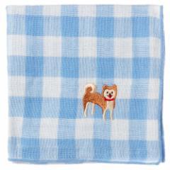 わんこハンカチ 柴犬 スーベニール Handkerchief of dog pattern