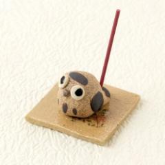 瀬戸焼 手作り香立て 梟 (K8024) 愛知県の工芸品 Seto-yaki Incense stand, Aichi craft