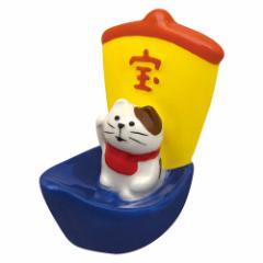 concombre 宝船箸置き 猫 (ZCB-92694) 初春のおもてなし  New year tableware