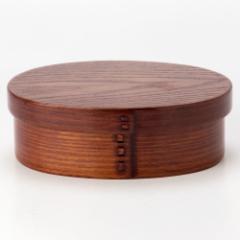 わっぱ弁当 木製漆塗り 杉合板 (KS) Wappa lunchbox, Bento