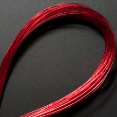 単色水引100本セット 光 赤 (MZH-01) 工作用・材料