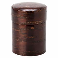 桜皮茶筒 小 漆塗り (KS) Tea canister