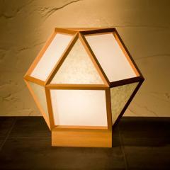 和風スタンドライト 行灯 的 mato 白×銀鼠 1灯タイプ (A522-B) 杉材と強化和紙の照明器具 LED電球対応 Japanese style floor lam