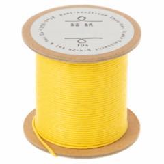 結紙(むすぶかみ) 黄 紙の糸 紙製水引 10m巻 紙匠雑貨エモジ Paper thread