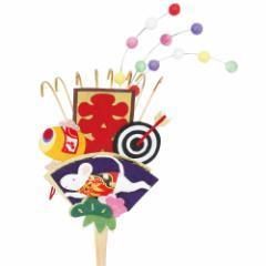正月飾り 熊手 干支 子 めでたや New Years decoration, Kite, Zodiac rat