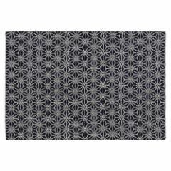 百道発信 しずく ランチョンマット 紺 (IKI-1471) 45×31cm 福岡県の布製品 Fabric place mat, Fukuoka craft