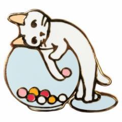 ポタリングキャット ピンズコレクション キャンディーポット(PZ-40)
