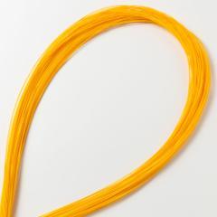 水引キット 絹巻水引 濃黄50本入 工作用・材料 Mizuhiki, Paper cord