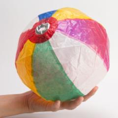 紙風船11号 直径約18cm Paper balloon