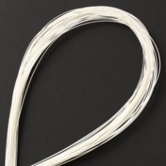 水引キット 絹巻水引 白50本入 工作用・材料 Mizuhiki, Paper cord
