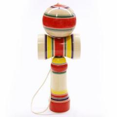 とってもでかい!実技も可! 一尺けん玉 山形県の木地玩具