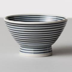 飯碗 藍駒 茶碗(小) 波佐見焼・磁器 馬場商店