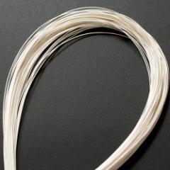 単色水引100本セット 光 白 (MZH-14) 工作用・材料