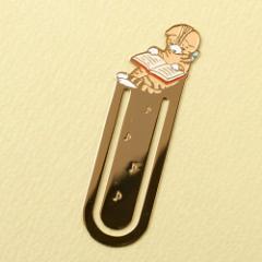 ポタリングキャット ブックマーカー(しおり) 読書1 クローバー (BM-01)
