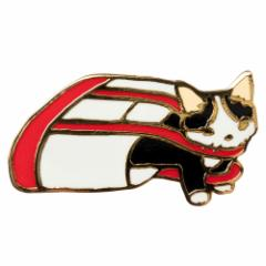ピンズコレクション ショルダーバッグ (PZ-57) ポタリングキャット Cat pins, Pottering cat