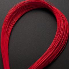 単色水引100本セット 色 赤 (MZI-01) 工作用・材料
