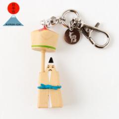 日本市 + 海洋堂 和歌山 那智火祭人形 ストラップ 日本全国まめ郷土玩具アクセサリー Japanese local toy accessorie, Strap ※在