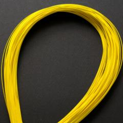 単色水引100本セット 色 黄 (MZI-04) 工作用・材料