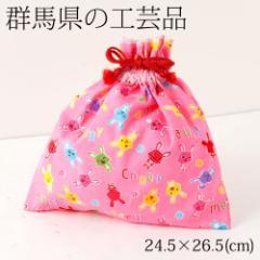 巾着袋03 群馬県の工芸品 Drawstring bag, Gunma craft