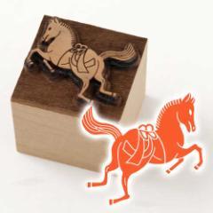 京からかみ 木版ミニスタンプ 添文 不破神馬文 京都府の工芸品 Karakami woodblock stamp