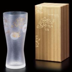 鳥獣戯画 ビアグラス 1個入り 泡づくり機能付きグラス プレミアムニッポンテイストシリーズ Beer Glass of Choju-giga