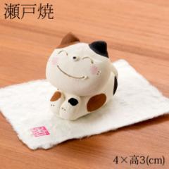 瀬戸焼 ぶち猫アロマストーン (K3550) 愛知県の工芸品 Seto-yaki Aroma stone, Aichi craft