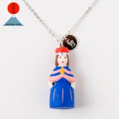 日本市 + 海洋堂 神奈川 横浜開港人形 ネックレス 日本全国まめ郷土玩具アクセサリー Japanese local toy accessorie, Necklace