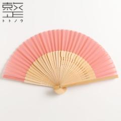 扇子 アシンメトリプチ ビアンカ ローズ 整 -トトノウ- 扇骨まで視線を感じる美しい扇子 Sensu fan