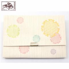 【懐紙入れ】室町紗紙 彩り雪輪 (KR-002) 和詩倶楽部 Kaishi case, Muromachi shoushi