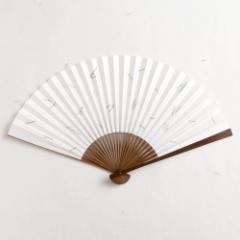 【扇子】傾奇扇 末広松葉 (SA-007) 和紙の扇子7寸5分 和詩倶楽部 Sensu fan, Washi-club ※在庫限り