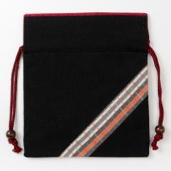 京都 あらいそ 西陣織名物裂 巾着袋065 Kyoto nishijin, Drawstring bag