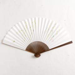 【扇子】傾奇扇 綾柳 (SA-008) 和紙の扇子7寸5分 和詩倶楽部 Sensu fan, Washi-club ※在庫限り