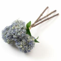 いろはに花 渦紫陽花 ブルー 気軽に飾る、季節を楽しむ日本らしい造花 Artificial flower