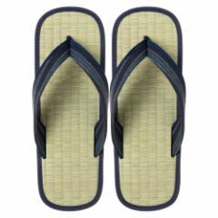 い草たたみ雪駄(LLサイズ) ゴム底草履 スリッパ サンダル Tatami sandals
