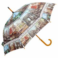 ジャンプ傘 晴雨兼用 世界の風景 Jump umbrella rain or shine combined the world landscape