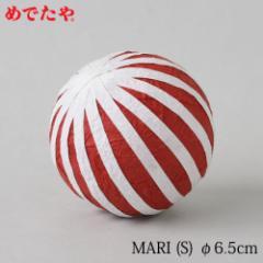 正月飾り めでたや MARI 赤(S) 鞠の置き飾り New Year decoration, Japanese ball ornament
