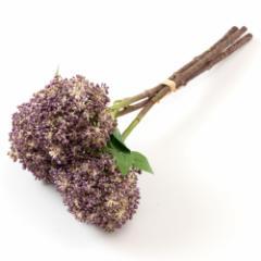いろはに花 渦紫陽花 パープル 気軽に飾る、季節を楽しむ日本らしい造花 Artificial flower