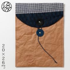 ちょこっとお出かけ封筒タテ型(A5サイズ)005 米袋封筒のちほど Handbag made of rice bag