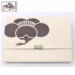 【懐紙入れ】室町紗紙 鶴梅 (KR-007) 和詩倶楽部 Kaishi case, Muromachi shoushi
