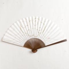 【扇子】傾奇扇 心経雲龍 (SA-014) 和紙の扇子7寸5分 和詩倶楽部 Sensu fan, Washi-club ※在庫限り