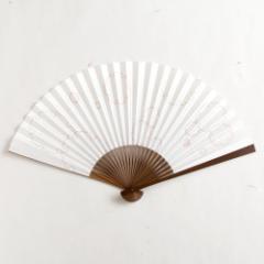 【扇子】傾奇扇 雪輪 (SA-015) 和紙の扇子7寸5分 和詩倶楽部 Sensu fan, Washi-club ※在庫限り