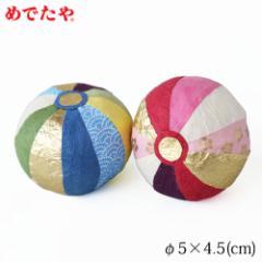 正月飾り 和紙手まり 2個組 めでたや New Year decoration, Temari