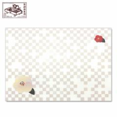 【封筒】此の先封筒 七宝椿 (ID-017) 同柄5枚入 和詩倶楽部 Envelope, Washi-club