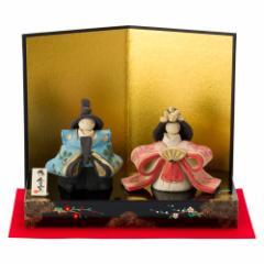 工房SAO 嬉しき雛 立雛飾り (HK819) 瀬戸焼のお雛さま 桃の節句 愛知県の工芸品 Setoyaki Hina dolls, Aichi craft